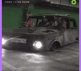 No you aren't going crazy, this really is a LOW-low-low RIDER Lada Niva
