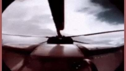 When the ejection seat is used in a helicopter, the rotor blades are jettisoned to increase your chance of survival