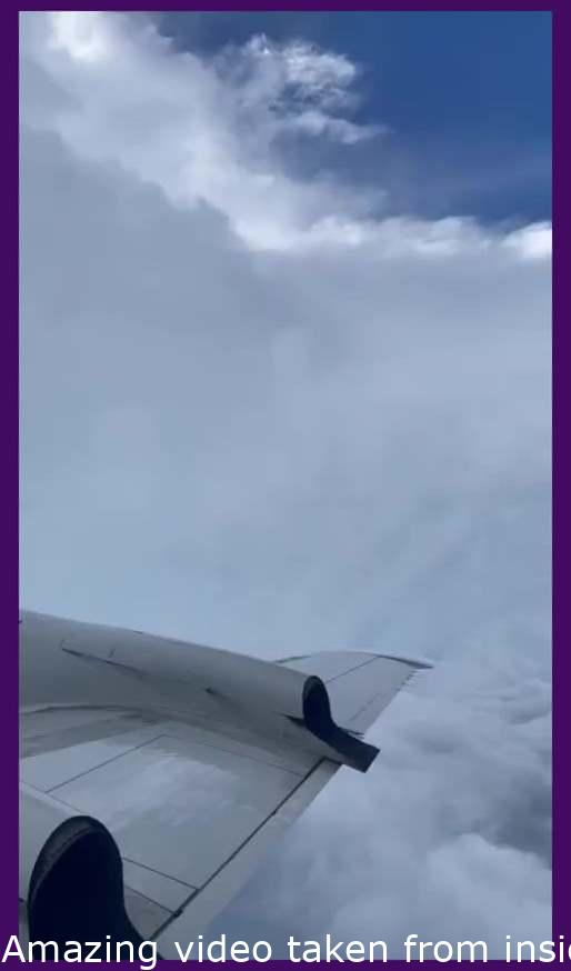 Stunning video taken from inside the eye of Hurricane Ida this morning by the NESDIS Ocean Winds Research team during a flight on the NOAAP3 aircraft.