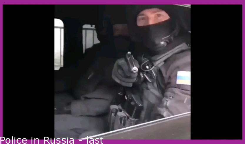 Police in Russia