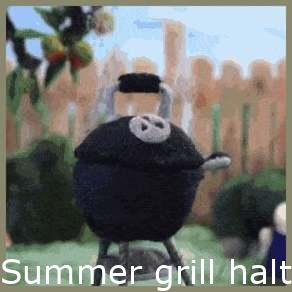 Summer grill stop motion