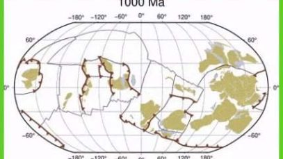 A Billion Years Of Tectonic Plate Movement In 40 Sec.