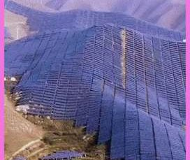 Every year, the Taihang solar farm in China reduces 251,000 metric tons of CO2 emissions.