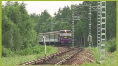Russian Train Never Stop